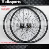 High quality lightweight 29er carbon rims carbon disc wheel mtb no folding bike carbon wheel rims