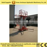 Factory direct sell mobile platform ladder,mobile electric lifting aluminum work platform