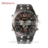 HOT!Factory price Middleland 8015 high quality Led watch stainless steel hot sells in 2015