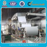 High Speed Paper Factory 1575mm Cultural Paper Machine For Writing Paper White Office Paper Production Line
