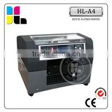 A4 size mini eco solvent printer, Cheap printer, universal printing machine for all materials