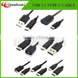 2015 newest USB Type C charging data Cable,wholesale super speed usb type c cable with factory price
