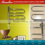 Swivel High Quality Electric Heated Towel Warmer, Heated towel rail, Electric heated towel rack radiator (BLG-19)