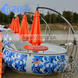 Popular floating mini yatch boat with bbq                                                                         Quality Choice
