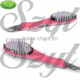 New design electric straightening hair comb popular straightening hair comb brush--HC002