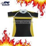 High tech custom made sublimated rugby top,top 14 rugby jerseys,blank rugby jersey