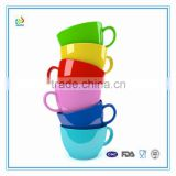 Personalized colorful glazed ceramic espresso cup and saucer set                                                                         Quality Choice