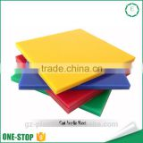 OEM professional plastic polyethylene nylon pvc sheet plate low price cell cast acrylic sheet