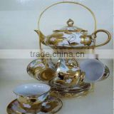 hot sale Chinese design New Style hand painted ceramic porcelain teapot set