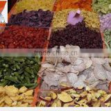 dried vegetables/fruit