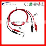 P1022 banana test lead jumper lead wires twin lead wire