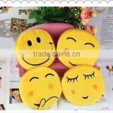hot sell Emoji coin purse plush wallets small bag