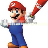Customized Funny Inflatable Christmas Super Mario For Sale Inflatable Christmas