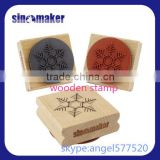 3D Custom Funny Printed Silicone Cookie Stamp With Wooden Handle