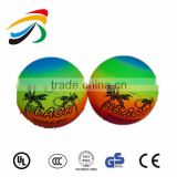 inflatable PVC volleyball rainbow beach ball party ball for fun