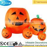 DJ-165 4ft Pumpkin family commercial cunning laugh inflatable outdoor decoration halloween