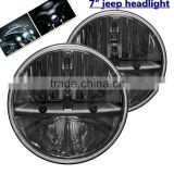 jee-p accessories 7 inch jee-p Wrangler Led Headlight car accessories 12v 24v 7inch jee-p Harley led headlights