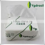 manufacture embossed soft bag dinner napkin facial tissue