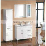 Popular cheap bathroom vanity sets bathroom storage cabinet sets with mirror and side cabinet