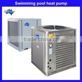 Air to water heat pump swimming pool hot water absorption chiller