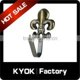 KYOK Vintage Antique Curtain Rod Hardware Automatic Electric Curtain Motor Accessories,Metal Bracket Cast Iron Plant Hook Hanger