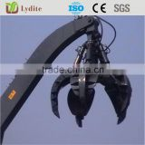 Hydraulic Rotation Excavator Grapple Buckets Hydraulic Orange Peel Grab