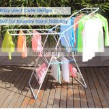 Stackable balcony clothes dryer,Multifunctional clothes hanger arm,White color powder coated cloth dryer