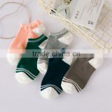 2 new cotton socks and shallow mouth contact Korean sports leisure socks socks wholesale Zhuji                                                                                                         Supplier's Choice