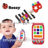 sozzy brand lovely new born baby musical toys, gittar, moblie and piano