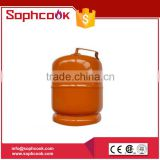 7.2L Gas Volume Steel Gas Valve LPG Cylinder