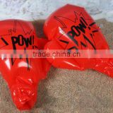 PVC inflatable custom made boxing gloves