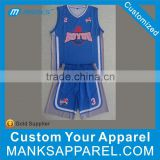 Personal Customized Design Sublimation Printing Basketball Jersey
