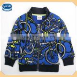 ( A4462 ) BLUE 18M-6Y children casual cheap clothes baby boy fleece jackets kids winter jacket