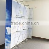 High quality aluminum Fabric Pop Up stand