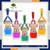 wholesale 5ml /7ml glass bottle air freshener hanging car perfume                                                                         Quality Choice