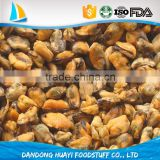 high quality boiled mussel meat