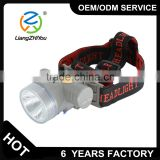 Low luminescence decay rechargeable head torch light for promotion