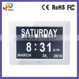 ABS Material and Digital Type day clock digital calendar for memory loss                                                                         Quality Choice