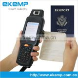 Best Selling Product EKEMP Handheld Passport Scanner PDA With Fingerprint Scanner and Barcode Scanner(X6)