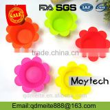 China manufacture baby bake cake mould /silicone flower cake mold