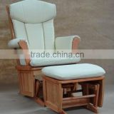 Arm-padded Wooden Antique Mother Rocking Chair
