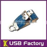 Discount beautiful oem new style leather usb flash device