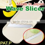 japanese vegetable slicer japanese kitchen big slicer wave blade made in JAPAN