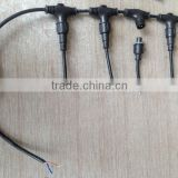 electrical Harness power plug T types electrical wire waterproof cable splitter connector