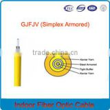 high strength kevlar cable Fiber Optic Cable GJFJV indoor 24 core 50/125 multimode