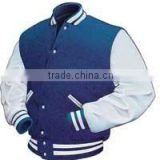 Varsity Jackets For Boys/ Wool Body Leather Sleeves Varsity Jackets/ Personalized Wool Body Leather Sleeves Varsity Jackets
