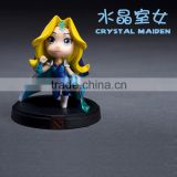 Dota2 crystal maiden 3D plastic PVC anime action figure cartoon model toys Customize hero pvc 1/6 collection oem odm funko pop