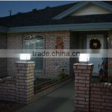 New products 2014 solar main post cap lamp,solar main gate pillar light,solar main gate lights (JR-3018)