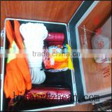 fire mask/fire extinguisher/fire blanket/flashlight