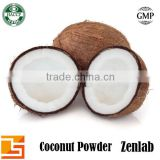 organic coconut powder with coconut fat powder